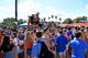 Aug 24, 2019; Orlando, FL, USA; Students tailgate prior to the game between the Miami Hurricanes and the Florida Gators at Camping World Stadium. Mandatory Credit: Jasen Vinlove-USA TODAY Sports