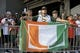 Aug 24, 2019; Orlando, FL, USA; Miami Hurricanes fans wait for the football team to arrive prior to the game against the Florida Gators at Camping World Stadium. Mandatory Credit: Jasen Vinlove-USA TODAY Sports
