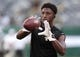 Aug 24, 2019; East Rutherford, NJ, USA; New Orleans Saints wide receiver Michael Thomas (13) warms up before his game against the New York Jets at MetLife Stadium. Mandatory Credit: Vincent Carchietta-USA TODAY Sports