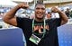 Aug 24, 2019; Orlando, FL, USA; Jacksonville Jaguars defensive end and former Miami Hurricanes player Calais Campbell in attendance prior to the game between the Miami Hurricanes and the Florida Gators at Camping World Stadium. Mandatory Credit: Jasen Vinlove-USA TODAY Sports
