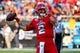 Sep 7, 2019; Boca Raton, FL, USA; Florida Atlantic Owls quarterback Chris Robison (2) warms up prior to the game against the UCF Knights at FAU Football Stadium. Mandatory Credit: Jasen Vinlove-USA TODAY Sports