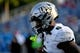 Sep 7, 2019; Boca Raton, FL, USA; UCF Knights wide receiver Marlon Williams (6) takes the field to warm up prior's to the game against the Florida Atlantic Owls at FAU Football Stadium. Mandatory Credit: Jasen Vinlove-USA TODAY Sports