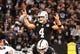 Sep 9, 2019; Oakland, CA, USA; Oakland Raiders quarterback Derek Carr (4) calls out before a snap against the Denver Broncos during the first quarter at Oakland Coliseum. Mandatory Credit: Kelley L Cox-USA TODAY Sports