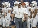 Sep 14, 2019; Houston, TX, USA; Texas Longhorns head coach Tom Herman walks on the field before a game against the Rice Owls at NRG Stadium. Mandatory Credit: Troy Taormina-USA TODAY Sports