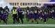 Sep 21, 2019; Evanston, IL, USA; Northwestern Wildcats players take the field before the game against Michigan State Spartansat Ryan Field. Mandatory Credit: Matt Marton-USA TODAY Sports