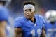 Sep 29, 2019; Detroit, MI, USA; Detroit Lions wide receiver Marvin Jones (11) without his helmet during warm up before the game against the Kansas City Chiefs at Ford Field. Mandatory Credit: Raj Mehta-USA TODAY Sports