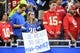 Sep 29, 2019; Detroit, MI, USA; Detroit Lions fans holds up a sign before the game against the Kansas City Chiefs at Ford Field. Mandatory Credit: Tim Fuller-USA TODAY Sports