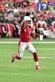 Sep 29, 2019; Glendale, AZ, USA; Arizona Cardinals quarterback Kyler Murray (1) throws during the first half against the Seattle Seahawks at State Farm Stadium. Mandatory Credit: Matt Kartozian-USA TODAY Sports