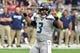 Sep 29, 2019; Glendale, AZ, USA; Seattle Seahawks quarterback Russell Wilson (3) signals to teammates during the first half against the Arizona Cardinals at State Farm Stadium. Mandatory Credit: Matt Kartozian-USA TODAY Sports