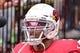 Sep 29, 2019; Glendale, AZ, USA; Arizona Cardinals outside linebacker Terrell Suggs (56) looks on prior to the game against the Seattle Seahawks at State Farm Stadium. Mandatory Credit: Matt Kartozian-USA TODAY Sports