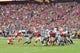 Sep 29, 2019; Glendale, AZ, USA; Arizona Cardinals kicker Zane Gonzalez (5) misses his second field goal of the first half against the Seattle Seahawks at State Farm Stadium. Mandatory Credit: Matt Kartozian-USA TODAY Sports