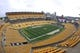 Oct 6, 2019; Pittsburgh, PA, USA;  General view of the field  before the Pittsburgh Steelers host the Baltimore Ravens at Heinz Field. Mandatory Credit: Charles LeClaire-USA TODAY Sports