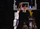 Oct 16, 2019; Los Angeles, CA, USA; Los Angeles Lakers forward Anthony Davis (3) dunks the ball against the Golden State Warriors  in the first half at Staples Center. Mandatory Credit: Kirby Lee-USA TODAY Sports