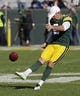 Oct 20, 2019; Green Bay, WI, USA; Green Bay Packers kicker Mason Crosby (2) warms up prior to the game against the Oakland Raiders at Lambeau Field. Mandatory Credit: Dan Powers/Wisconsin via USA TODAY Sports