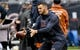 Oct 20, 2019; Chicago, IL, USA; Chicago Bears quarterback Mitchell Trubisky (10) during warm ups before the game against the New Orleans Saints at Soldier Field. Mandatory Credit: Matt Marton-USA TODAY Sports