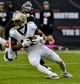 Oct 20, 2019; Chicago, IL, USA; New Orleans Saints wide receiver Michael Thomas (13) during the second half against the Chicago Bears at Soldier Field. Mandatory Credit: Matt Marton-USA TODAY Sports