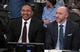 Oct 16, 2019; Los Angeles, CA, USA; ESPN broadcasters Mark Jackson (left) and Dave Pasch during the NBA game between the Los Angeles Lakers and the Golden State Warriors Staples Center.  Mandatory Credit: Kirby Lee-USA TODAY Sports