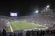 Sep 20, 2014; Memphis, TN, USA; A general view of Liberty Bowl Stadium during the game between the Memphis Tigers and the Middle Tennessee Blue Raiders at Liberty Bowl Memorial Stadium. Memphis Tigers beat the Middle Tennessee Blue Raiders 36 - 17. Mandatory Credit: Justin Ford-USA TODAY Sports