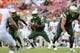 Sep 5, 2015; Tampa, FL, USA; South Florida Bulls quarterback Quentin Flowers (9) runs with the football during the first half against the Florida A & M Rattlers at Raymond James Stadium. Mandatory Credit: Jonathan Dyer-USA TODAY Sports