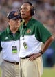 Sep 5, 2015; Tampa, FL, USA; Florida A & M Rattlers head coach Alex Wood  watches the action during the  half against the South Florida Bulls at Raymond James Stadium. Mandatory Credit: Jonathan Dyer-USA TODAY Sports