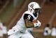 Sep 5, 2015; Cincinnati, OH, USA; Alabama A&M Bulldogs wide receiver Tevin McKenzie (9) against the Cincinnati Bearcats at Nippert Stadium. The Bearcats won 52-10. Mandatory Credit: Aaron Doster-USA TODAY Sports