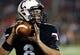 Sep 5, 2015; Cincinnati, OH, USA; Cincinnati Bearcats quarterback Hayden Moore (8) against the Alabama A&M Bulldogs at Nippert Stadium. The Bearcats won 52-10. Mandatory Credit: Aaron Doster-USA TODAY Sports
