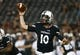 Sep 5, 2015; Cincinnati, OH, USA; Cincinnati Bearcats quarterback Luke Wright (10) against the Alabama A&M Bulldogs at Nippert Stadium. The Bearcats won 52-10. Mandatory Credit: Aaron Doster-USA TODAY Sports
