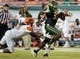 Sep 5, 2015; Tampa, FL, USA; South Florida Bulls running back D   Ernest Johnson (31) runs the ball in the second half against the Florida A & M Rattlers at Raymond James Stadium. Mandatory Credit: Jonathan Dyer-USA TODAY Sports