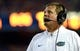 Sep 5, 2015; Gainesville, FL, USA; Florida Gators head coach Jim McElwain during the second quarter at Ben Hill Griffin Stadium. Mandatory Credit: Kim Klement-USA TODAY Sports