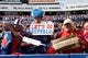 Sep 20, 2015; Orchard Park, NY, USA; Buffalo Bills fans show support for the team during the second half against the New England Patriots at Ralph Wilson Stadium. Patriots beat the Bills 40-32. Mandatory Credit: Kevin Hoffman-USA TODAY Sports