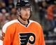 Sep 21, 2015; Philadelphia, PA, USA; Philadelphia Flyers left wing Michael Raffl (12) during a preseason game against the New York Islanders at PPL Center. The Flyers defeated the Islanders, 5-3. Mandatory Credit: Eric Hartline-USA TODAY Sports