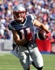 Sep 20, 2015; Orchard Park, NY, USA; New England Patriots wide receiver Julian Edelman (11) against the Buffalo Bills at Ralph Wilson Stadium. Patriots defeat the Bills 40 to 32.  Mandatory Credit: Timothy T. Ludwig-USA TODAY Sports
