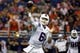 Oct 10, 2015; San Antonio, TX, USA; Louisiana Tech Bulldogs quarterback Jeff Driskel (6) throws the ball against the UTSA Roadrunners during the second half at Alamodome. Mandatory Credit: Soobum Im-USA TODAY Sports
