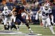Oct 10, 2015; San Antonio, TX, USA; UTSA Roadrunners quarterback Dalton Sturm (14) scrambles against the Louisiana Tech Bulldogs during the second half at Alamodome. Mandatory Credit: Soobum Im-USA TODAY Sports