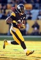 Nov 8, 2015; Pittsburgh, PA, USA; Pittsburgh Steelers running back DeAngelo Williams (34) scores a touchdown against the Oakland Raiders during the second quarter at Heinz Field. Mandatory Credit: Charles LeClaire-USA TODAY Sports