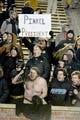 Nov 21, 2015; Columbia, MO, USA; Missouri Tigers head coach Gary Pinkel fans show their support during the second half against the Tennessee Volunteers at Faurot Field. Tennessee won the game 19-8. Mandatory Credit: Denny Medley-USA TODAY Sports