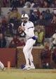 Nov 21, 2015; Norman, OK, USA; TCU Horned Frogs quarterback Bram Kohlhausen (6) throws during the game against the Oklahoma Sooners at Gaylord Family - Oklahoma Memorial Stadium. Mandatory Credit: Kevin Jairaj-USA TODAY Sports