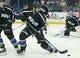 Nov 28, 2015; Tampa, FL, USA; Tampa Bay Lightning defenseman Jason Garrison (5) skates during the third period of a hockey game against the New York Islanders at Amalie Arena.The Islanders won 3-2. Mandatory Credit: Reinhold Matay-USA TODAY Sports
