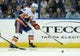 Nov 28, 2015; Tampa, FL, USA; New York Islanders left wing Josh Bailey (12) skates during the second period of a hockey game against the Tampa Bay Lightning at Amalie Arena. Mandatory Credit: Reinhold Matay-USA TODAY Sports