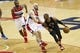 Dec 28, 2015; Washington, DC, USA; Los Angeles Clippers guard Chris Paul (3) dribbles the ball as Washington Wizards center Marcin Gortat (13) and Wizards guard John Wall (2) defend in the third quarter at Verizon Center. The Clippers won 108-91. Mandatory Credit: Geoff Burke-USA TODAY Sports
