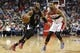 Dec 28, 2015; Washington, DC, USA; Los Angeles Clippers guard Chris Paul (3) dribbles the ball as Washington Wizards guard Ramon Sessions (7) defends in the second quarter at Verizon Center. The Clippers won 108-91. Mandatory Credit: Geoff Burke-USA TODAY Sports
