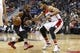 Dec 28, 2015; Washington, DC, USA; Los Angeles Clippers guard Chris Paul (3) dribbles the ball as Washington Wizards guard Garrett Temple (17) defends in the second quarter at Verizon Center. The Clippers won 108-91. Mandatory Credit: Geoff Burke-USA TODAY Sports