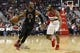 Dec 28, 2015; Washington, DC, USA; Los Angeles Clippers guard Chris Paul (3) dribbles the ball as Washington Wizards guard John Wall (2) defends in the second quarter at Verizon Center. The Clippers won 108-91. Mandatory Credit: Geoff Burke-USA TODAY Sports