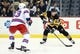 Feb 10, 2016; Pittsburgh, PA, USA; Pittsburgh Penguins center Sidney Crosby (87) handles the puck as New York Rangers defenseman Keith Yandle (93) defends during the second period at the CONSOL Energy Center. Mandatory Credit: Charles LeClaire-USA TODAY Sports