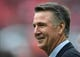Oct 30, 2016; London, United Kingdom; Washington Redskins president Bruce Allen during game 17 of the NFL International Series against the Cincinnati Bengals at Wembley Stadium. Mandatory Credit: Kirby Lee-USA TODAY Sports