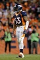 Oct 24, 2016; Denver, CO, USA; Denver Broncos strong safety T.J. Ward (43) in the third quarter against the Houston Texans at Sports Authority Field at Mile High. Mandatory Credit: Isaiah J. Downing-USA TODAY Sports