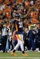 Oct 24, 2016; Denver, CO, USA; Denver Broncos cornerback Aqib Talib (21) in the fourth quarter against the Houston Texans at Sports Authority Field at Mile High. Mandatory Credit: Isaiah J. Downing-USA TODAY Sports