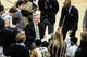 Dec 5, 2016; Iowa City, IA, USA; Iowa Hawkeyes head coach Fran McCaffery talks with his team during the second half against the Stetson Hatters at Carver-Hawkeye Arena. Iowa won 95-68. Mandatory Credit: Jeffrey Becker-USA TODAY Sports