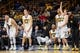 Dec 5, 2016; Iowa City, IA, USA; The Iowa Hawkeyes bench reacts during the second half against the Stetson Hatters at Carver-Hawkeye Arena. Iowa won 95-68. Mandatory Credit: Jeffrey Becker-USA TODAY Sports