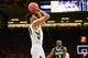 Dec 5, 2016; Iowa City, IA, USA; Iowa Hawkeyes guard Christian Williams (10) shoots the ball against the Stetson Hatters during the second half at Carver-Hawkeye Arena. Iowa won 95-68. Mandatory Credit: Jeffrey Becker-USA TODAY Sports